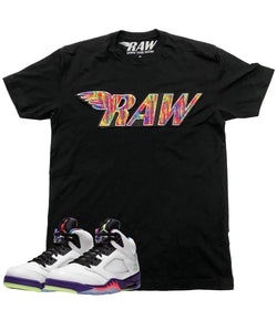 RAW Bel Air Chenille Crew Neck - Black