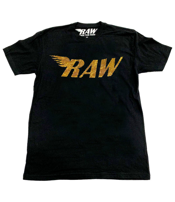 RAW Gold Bling Crew Neck