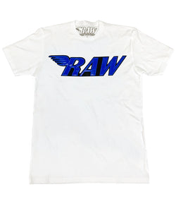 RAW PU Royal Crew Neck - White