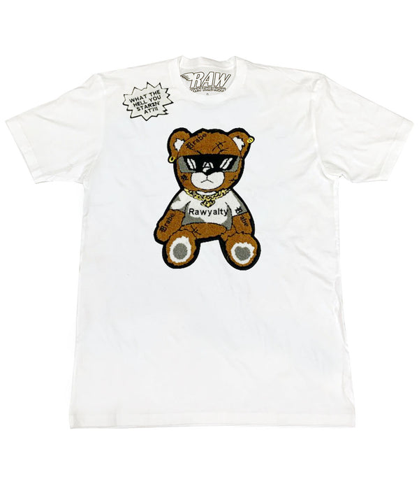 Teddy Patch Crew Neck