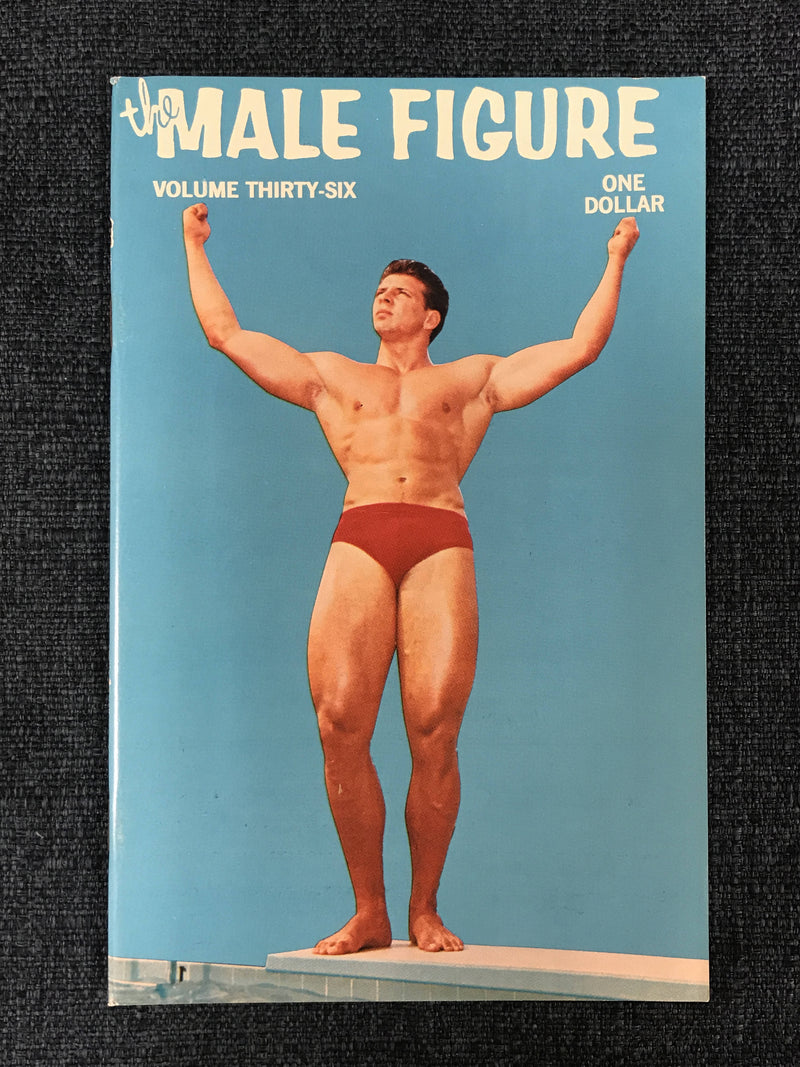Gay Men's Zine Bruce of L.A. THE MALE FIGURE