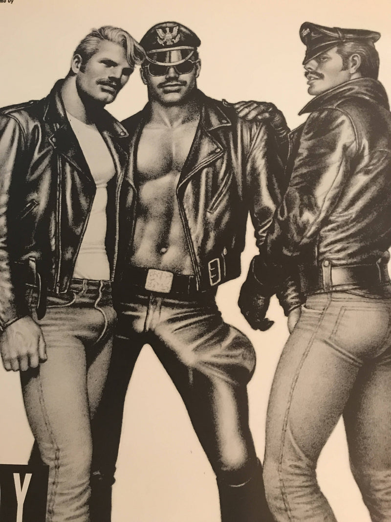 "Tom of Finland ""Daddy and the Muscle Academy"" Movie Poster 1991 Original"