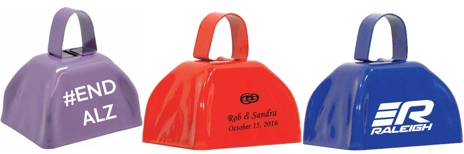 Printed Cowbells are great promotional products!