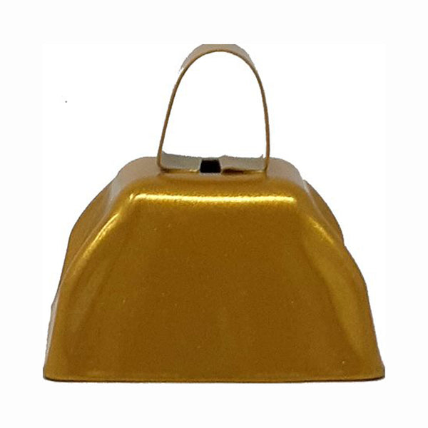 "3"" Gold Mini Cowbells (12 or 144)"