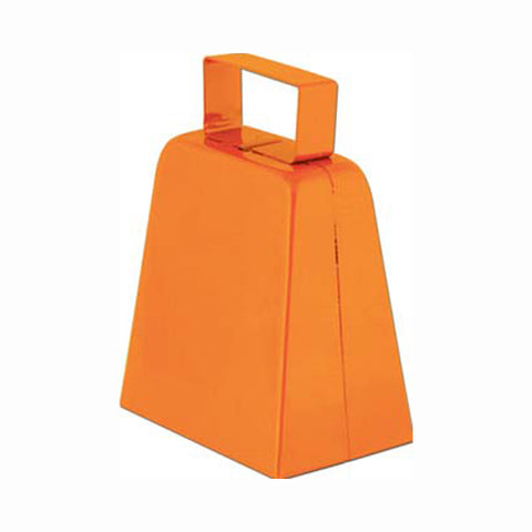 "Orange 4"" High  Cowbell (1, 6 or 96)"