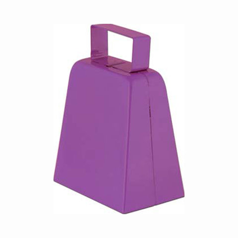 "Purple 4"" High  Cowbell (1, 6 or 96)"
