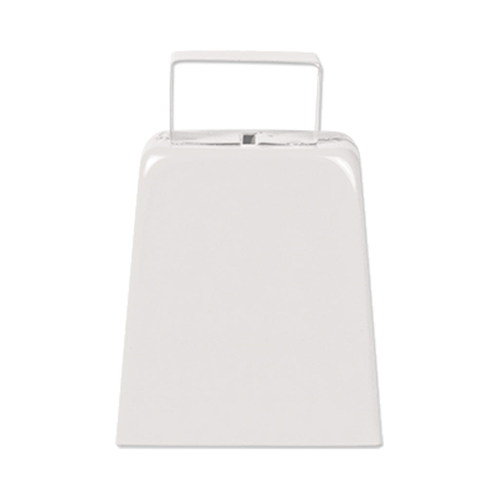 "White 4"" High Cowbell (1, 6 or 96)"