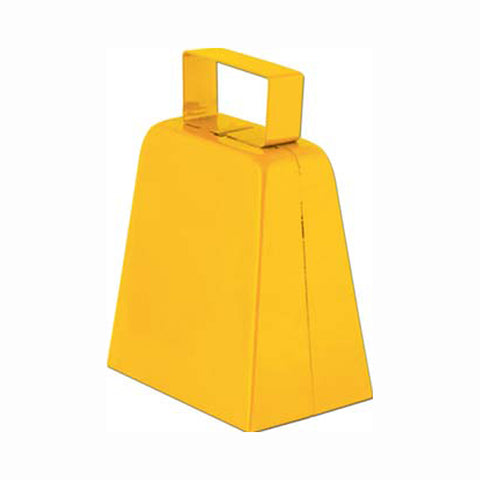 "Yellow 4"" High  Cowbell (1, 6 or 96)"