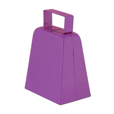 "Purple 4"" High  Cowbell (1, 12 or 72)"