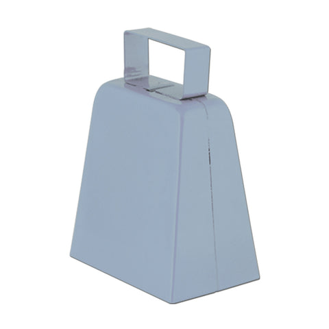 "Silver 4"" High  Cowbell (1, 12 or 72)"