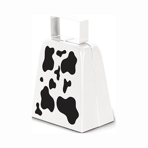 "Cow Print 4"" Cowbell (1 bell)"