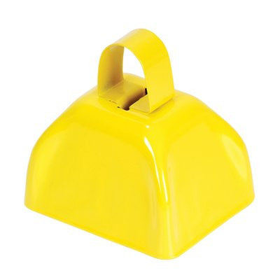 "3"" Yellow Mini Cowbells (12 or 144)"