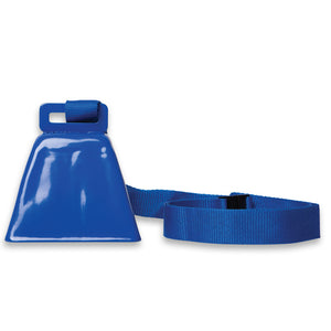 Blue Cowbell on Lanyard (1 or 100)