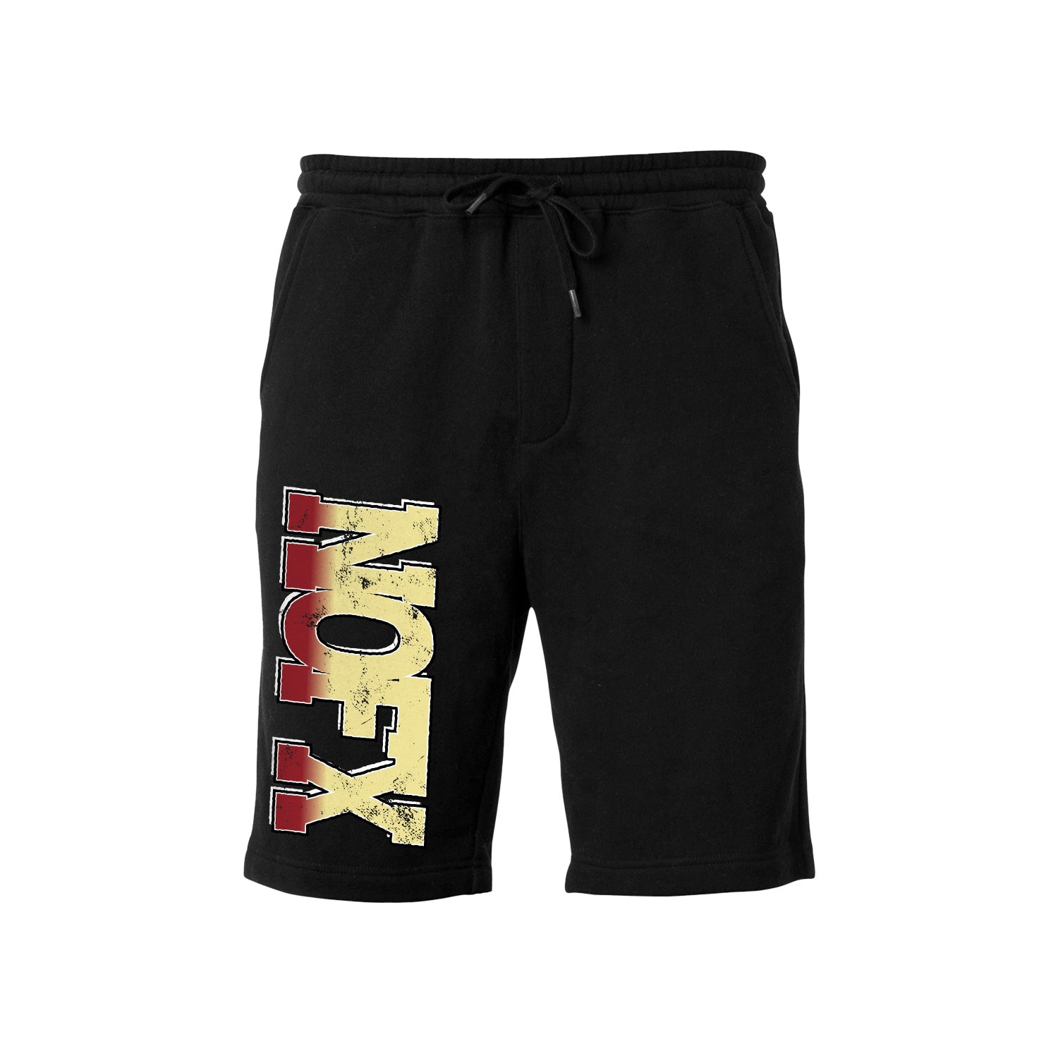 Gradient Logo Black Shorts
