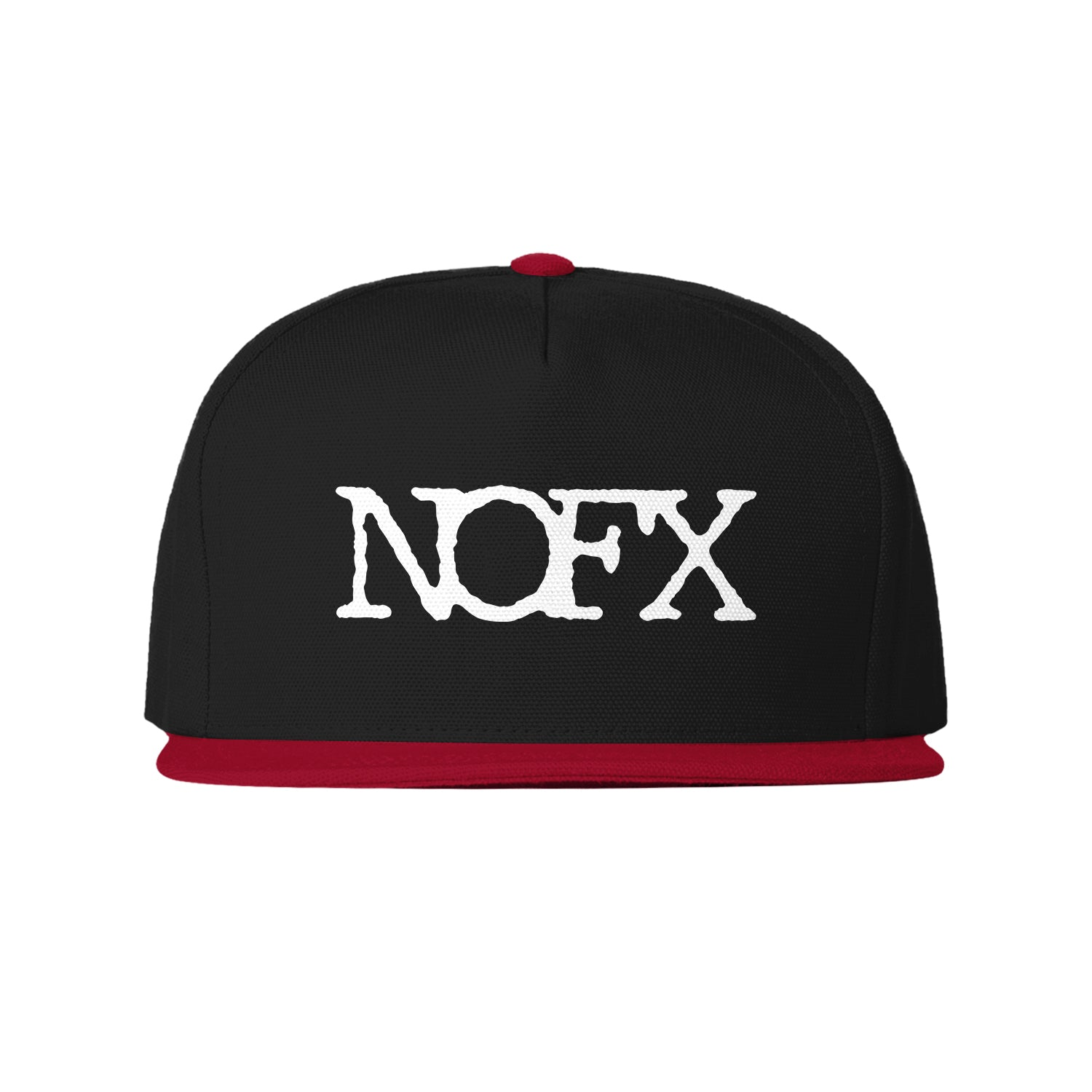 Logo Red/Black Snapback Hat