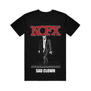 Sad Clown Black T-Shirt