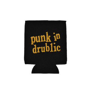Punk In Drublic Black Koozie