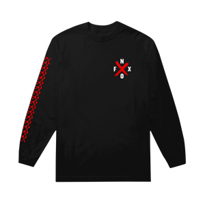 X Black Long Sleeve Shirt