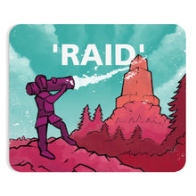 "Load image into Gallery viewer, ""Raid Scene"" Comfort Mousepad"