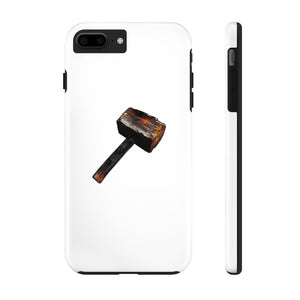 """Scorched Hammer"" Tough Phone Case"