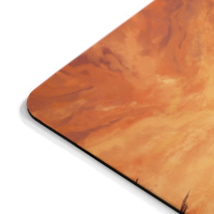 """Primative Battle Scene"" Comfort Mousepad"