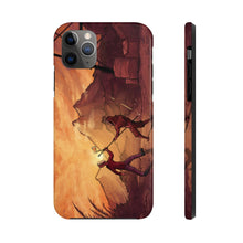 "Load image into Gallery viewer, ""Primitive Battle Scene"" Tough Phone Case"
