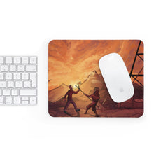 "Load image into Gallery viewer, ""Primative Battle Scene"" Comfort Mousepad"