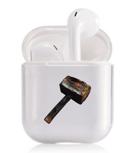 Load image into Gallery viewer, Impact Resistant Transparent Airpod Case