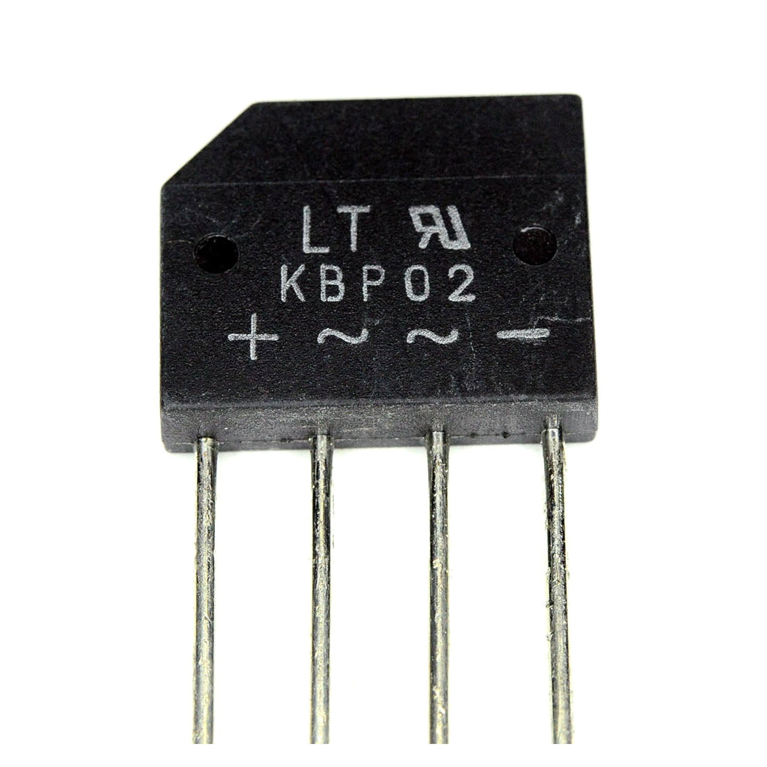 KBP02 Bridge Rectifier Diode 4P 2A 200V
