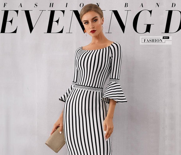 Tukshen bodycon Celebrity Dress