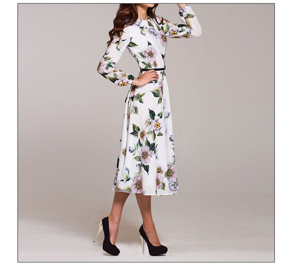 Tukshen Casual Midi Dress 2020