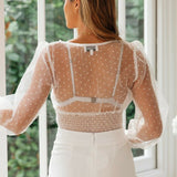 Latest Fashionable Mesh Top