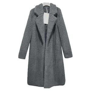 Fur Jacket Female Teddy Outwear Plush Overcoat