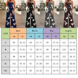 Latest Sleeveless Casual Floral Print jumpsuit