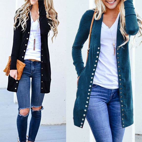 Casual Slim Knitted Baggy Cardigan