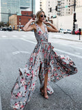 Boho Side Split Dress
