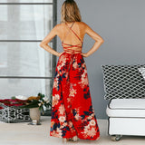 Most handful  V Neck Women Maxi Dress