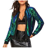 Casual Trendy Sequined Jacket