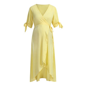 Women fashionable maternity dress