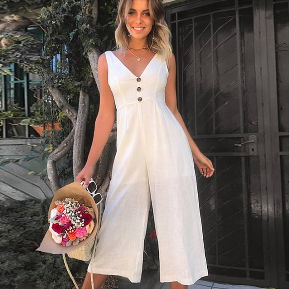 Cotton Clothing Jumpsuit Casual Look