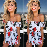 Lace-up Siamese Shorts Casual Rompers
