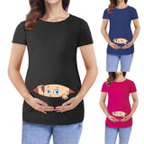 New Fashion Cartoon 3D Print Pregnant/ Maternity t shirts