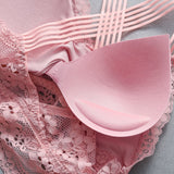 Fashion Casual Lace Strap Bra/top