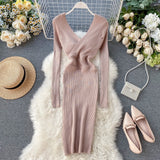 Bodycon Party Long Sleeve sweater Dresses