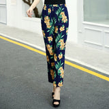 High Waist Casual Pencil Pants