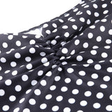 Square Collar Dot Print dress