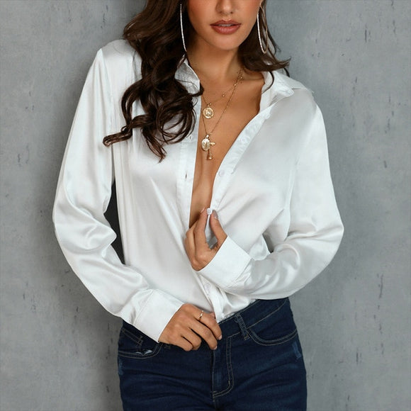 Satin Solid Shirt