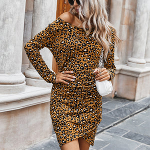 Tukshen Printed Mini Dress