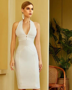Halter Bodycon Bandage Dress