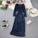 Tukshen glitter party dress